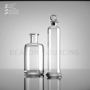 Diseño personalizado de alta calidad OEM ODM Crystal Espíritu Cristalería de licor de vino botellas de vidrio