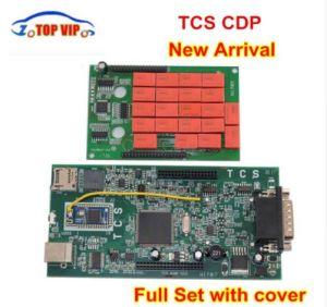 Cdpプロ2018最も新しい2015年。 R3 Keygen車またはトラックのための赤いリレーが付いている新しいTcs Cdpの新しいVci自動診察道具