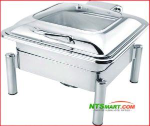 La soupe bouilloire avec les jambes, le restaurant de la restauration de nourriture, frottement plat chaud