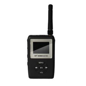 Transmissor de MP3 portáteis sem fios e guia de turismo