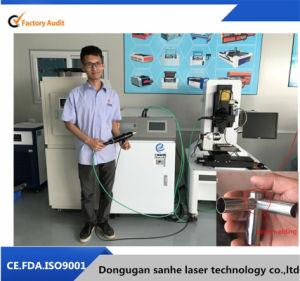 Machine van het Lassen van de Laser van de Vezel van China de Handbediende Draagbare Optische met het Overgebrachte Kanon van de Vezel Kabel 500W