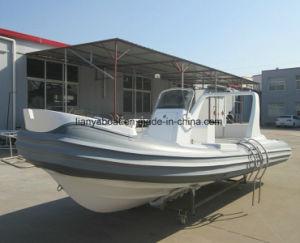 中国Liya 5.2mのガラス繊維のスポーツの漁船の堅く膨脹可能なボート