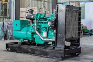 350kVA 280kw ouvert Type de démarrage électrique Groupe électrogène diesel Cummins