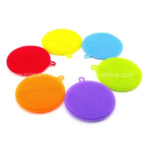Banheira de vender a Taça de Silicone Escovas de limpeza de louça Escova de cozinha de Silicone