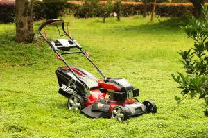 20 pouces jardin à démarrage électrique automotrice tondeuse à gazon 3 en 1