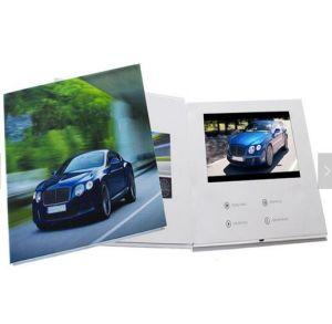 La publicité de voiture de l'écran LCD 7 pouces de la carte vidéo