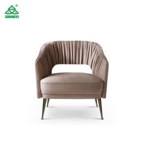 Sofá de madera de estilo europeo Hotel Silla de Ocio