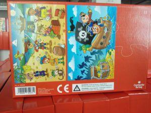 Puzzle di carta del puzzle dei giocattoli su ordinazione all'ingrosso dei bambini con il prezzo più poco costoso