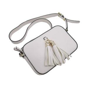 Mini sac PU Femme Ladybag OEM de gros mignon Tassel SAC SAC Crossbody nouveau concepteur