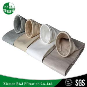 Coletor de pó industrial saco de filtro de Mídia, filtro de mangas