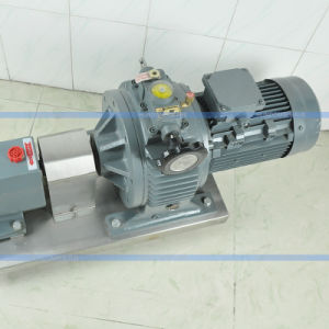 Aço inoxidável congestionamento da bomba de lóbulo rotativo sanitárias Entrega da Bomba do Rotor