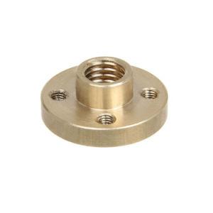 2pcs Tin-Bronze écrou M8 d'écrous de tiges filetées de l'axe Z pour la 3D Prusa I3 de l'imprimante de bricolage