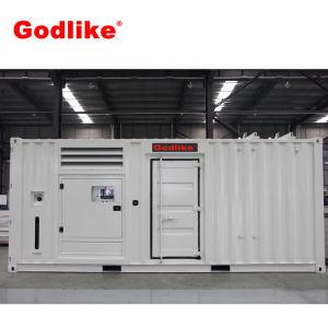 Тип контейнера 1250 ква дизельный генератор / двигатель Cummins с генератора переменного тока Stamford