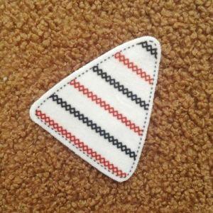 Ropa de etiqueta tejida de algodón camiseta