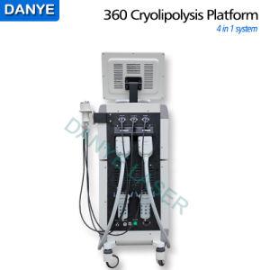 2017 neue 360 Cryolipolysis Vakuumhohlraumbildung HF 4 in 1 Coolscuplting fetter einfrierender Karosserie, die Maschine abnimmt