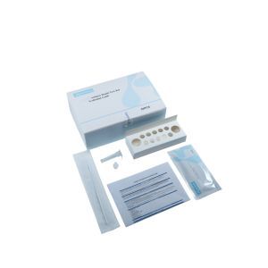 Test rapide Konsung écouvillonnage nasal de diagnostic de l'antigène Kit de test avec un tampon