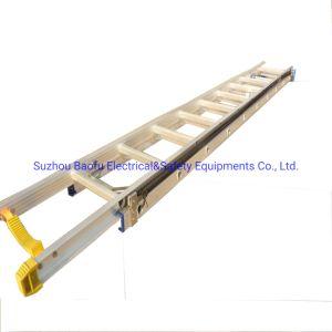 (375lbs) 6m en alliage aluminium Groved Single-Side Échelle d'extension de rampe
