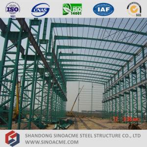 Latice Sinoacme Columna de la sección taller de construcción prefabricados de estructura de acero