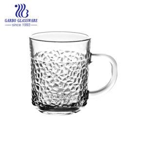 tazza di vetro 8oz con il disegno inciso (GB094408SS)