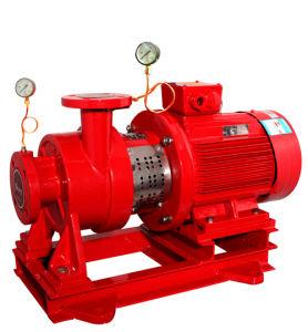 Eléctrico en línea vertical de la bomba de agua contra incendios
