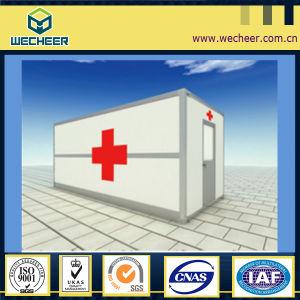 Prefabricated 의학 룸 콘테이너 집을 편평하 포장한다
