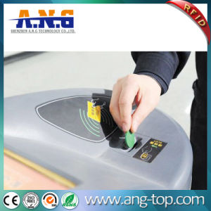 Hf RFID pasiva de la etiqueta de la moneda Tokens metro transporte