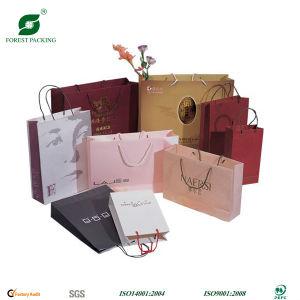 Bolsa de compras de papel precioso Logotipo personalizado