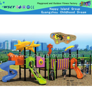 2015 Novo design do parque de diversões de Teto Tubarão Parque Infantil (HC-8201)