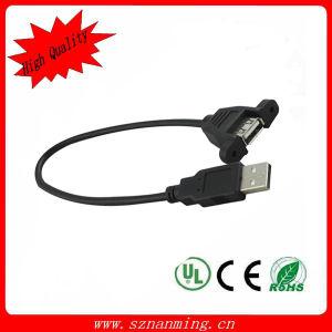 USB di Mount del pannello un Male a Female Cable