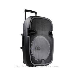 партия DJ&#160 домашнего театра PC 10; Напольный диктор Active Bluetooth вагонетки Karaoke