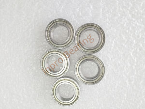 Las ventas en caliente de acero inoxidable de rodamiento de bolas de ranura profunda 6801 Zz