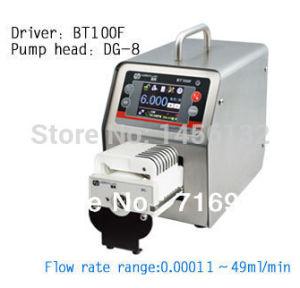 Bt100f Dg6-8 Intelligent Dispensing Peristaltic Pump Precise Control Liquid Tubing Industry Lab Pump 0.00016 to 49 (ml / min)