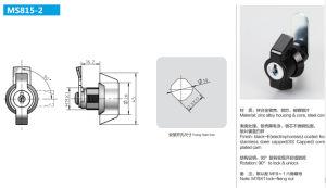Liga de zinco de alta qualidade a Chave de Bloqueio do Painel Elétrico