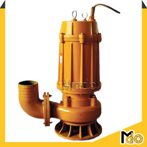 400mm d'eaux usées submersible pompe centrifuge de sortie