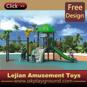 CE en Europe norme approuvée plastique en plein air Aire de jeux pour le parc (12020A)