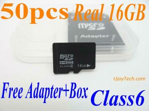 Reale 16GB Mikro-Sd Karte (16GB-TF-UJOYTECH)