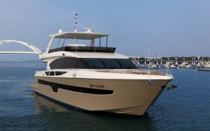 Mer Stella 85ft Motor Yacht de luxe avec moteur intérieur