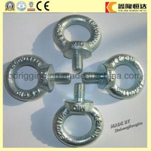 Fluss-Stahl galvanisierte DIN580 geschmiedete Augen-Schraube