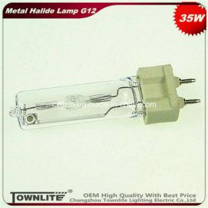 G12 35W Lámpara de halogenuros metálicos para la tienda de ropa