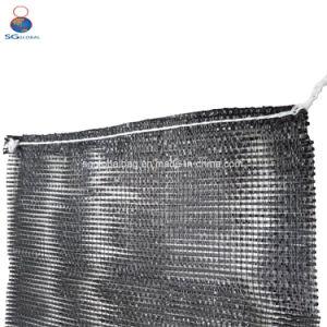 Custom PP maille noire Sac avec lacet de serrage