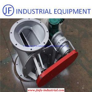 Aço inoxidável Roatry do bloqueio de ar da válvula de descarga para o coletor de pó