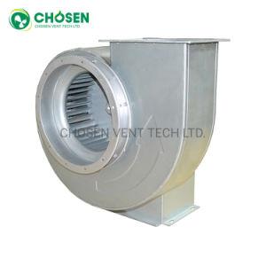 175 mm de acero galvanizado para equipos de guantes médicos Exhauster curvados hacia delante del ventilador centrífugo