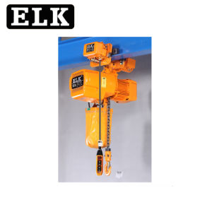 후크/모터식 트롤리가 있는 엘크 전기 체인 호이스트(0.5T~60T)