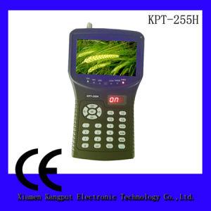DVB-S/S2 MPEG-2/4 (HD)를 가진 Kangput 4.3inch 인공위성 측정기 Kpt-255h