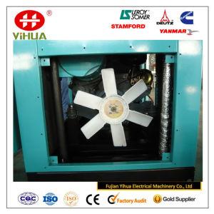 Gerador Diesel silencioso Soundproof de refrigeração ar 12.5-125kVA/10-100kw de Deutz