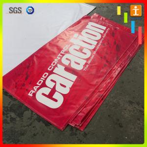 習慣は広告の創作者ヘッダのFrontlitの星PVC屈曲の旗を作る