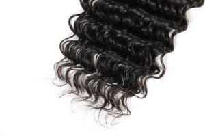 Brasilianisches Menschenhaar-tiefes Welle Remy Haar-unverarbeitetes Menschenhaar