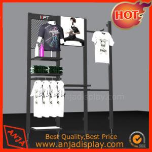 Bekleidungsgeschäft-Ausstellungsstand kleidet Bildschirmgerät für System