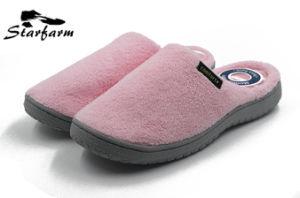 L'hiver polaire couleur pure de pantoufles pour la promotion