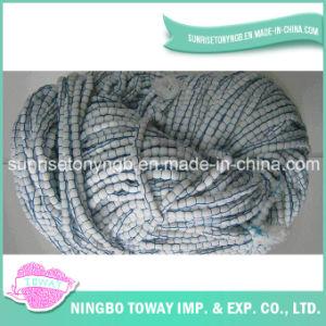 Aparecimento da luz de lenço de malha de algodão de loop de fios de fantasia